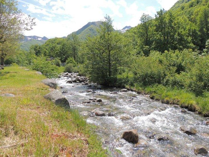 Camping Ariège bord de riviere