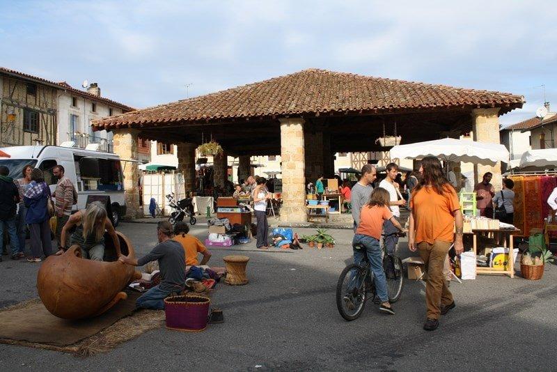 Marché Mas d'Azil Camping