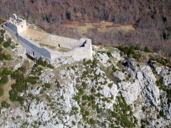 Château de Montségur Ariège Camping